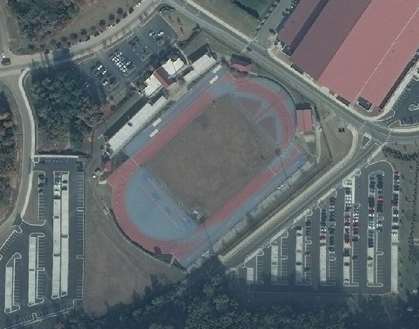 University of Mississippi Track Repairs